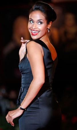 Shannon Kane, protagonista di Brooklyn's Finest sul red carpet di Venezia 2009