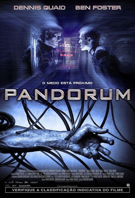 Un manifesto brasiliano per il film Pandorum