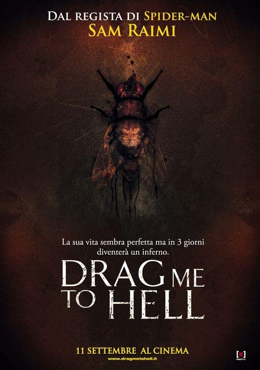 una delle locandine italiane per il film Drag Me to Hell