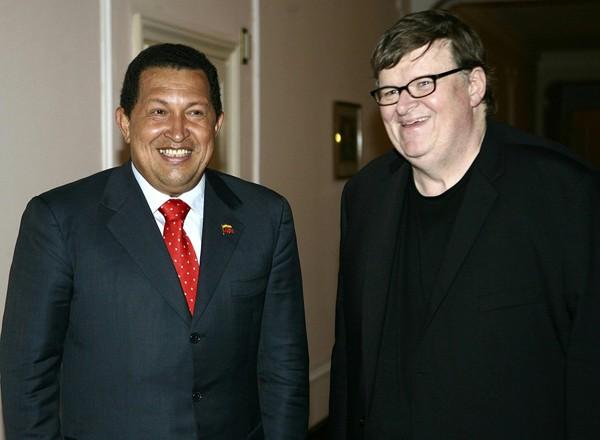 Venezia 2009: Michael Moore incontra Hugo Chavez