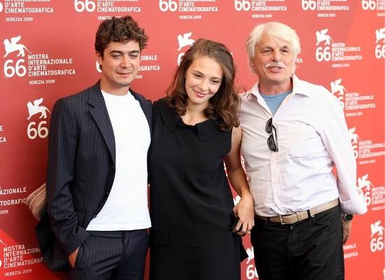 Venezia 2009: Michele Placido, Jasmine Trinca e Riccardo Scamarcio presentano Il grande sogno