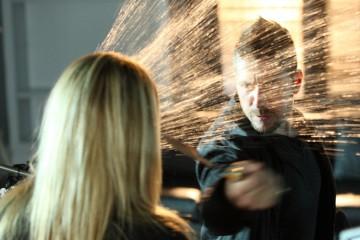 Ali Larter in una scena tratta dalla premiere della stagione 4 di Heroes