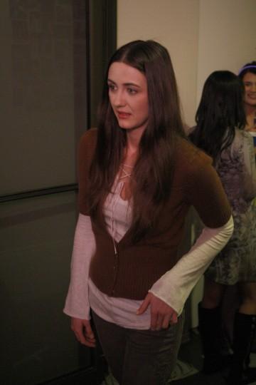 Madeline Zima in una scena tratta dalla premiere della quarta stagione di Heroes