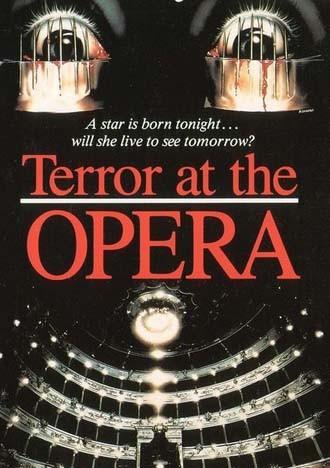 Poster americano de film Opera (1987)