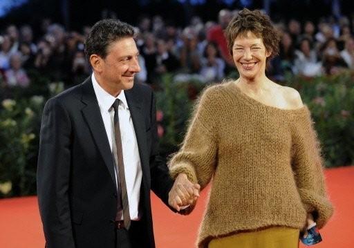 Alla Mostra del Cinema di Venezia è 'Questione di punti di vista' tra Jane Birkin e Sergio Castellitto.