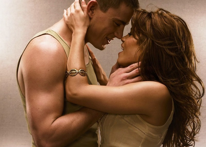 Channing Tatum e Jenna Dewan in una dolce foto per il film Step Up