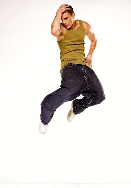 Channing Tatum in una foto promo del film Step Up
