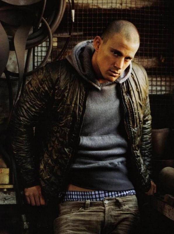 Channing Tatum per un servizio fotografico