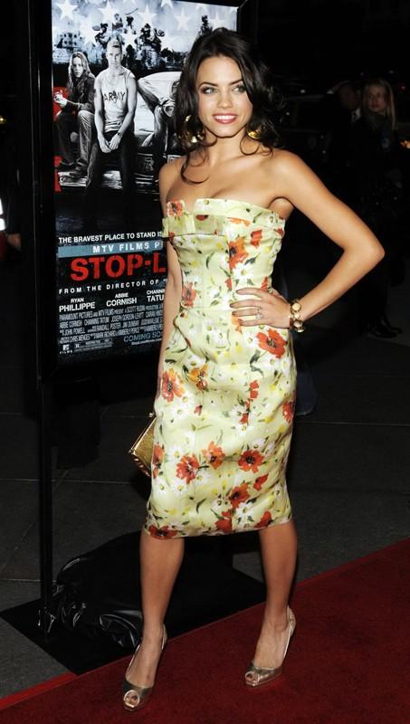 L'attrice Jenna Dewan alla premiere del film Stop-Loss