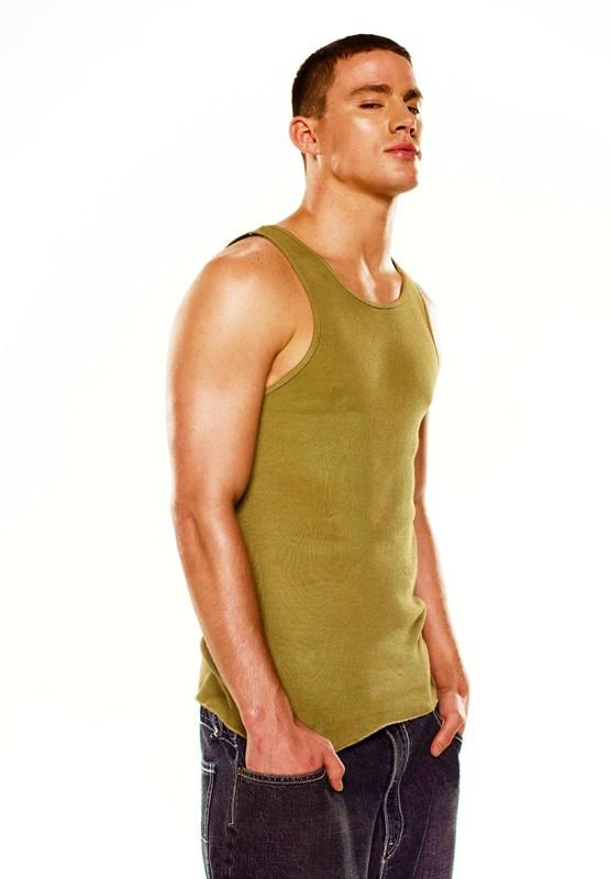 Una foto promo di Channing Tatum per il film Step Up