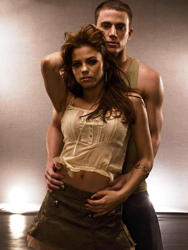 Una foto promozionale di Channing Tatum e Jenna Dewan per il film Step Up