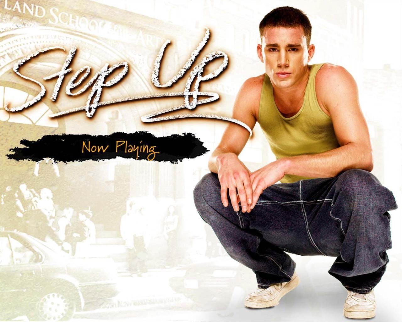 Wallpaper del film Step Up, con Channing Tatum