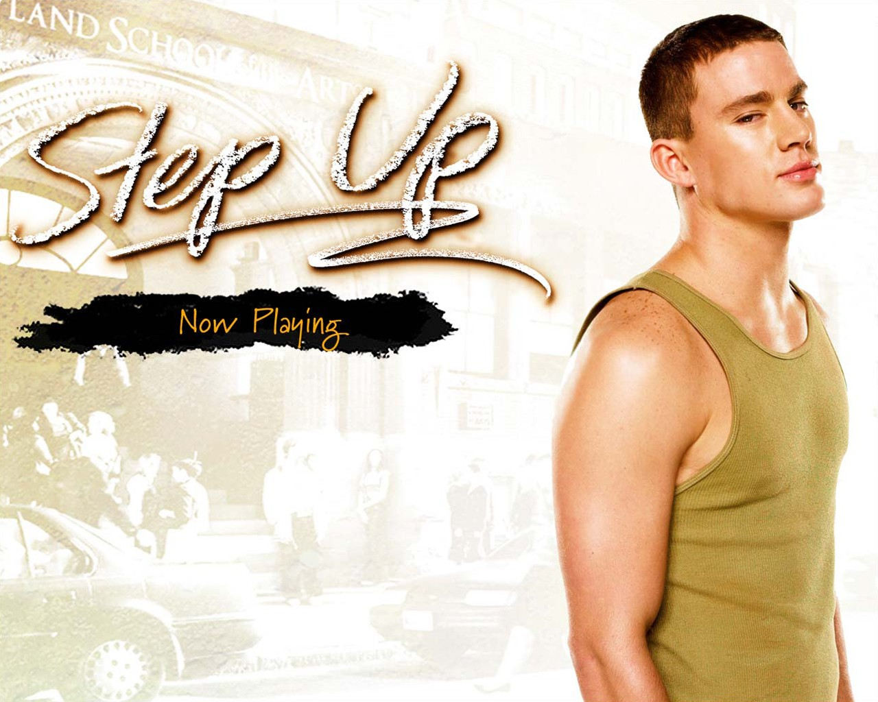 Wallpaper di Channing Tatum per il film Step Up