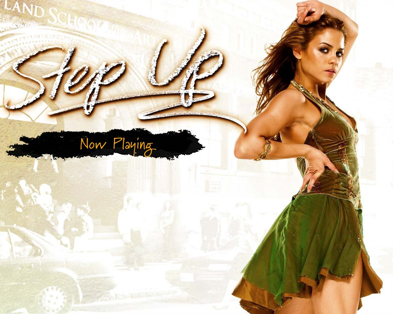Wallpaper di Jenna Dewan per il film Step Up