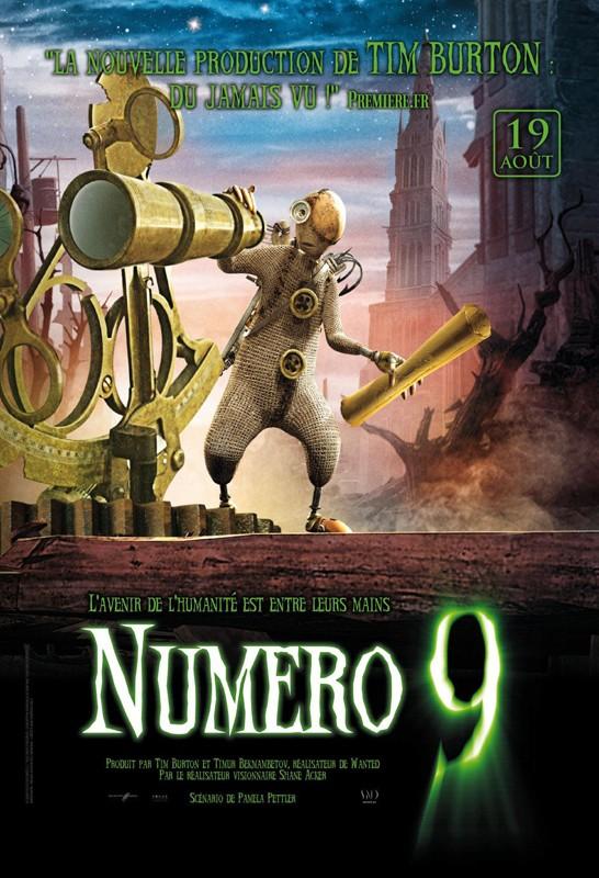Il poster francese del film d'animazione 9