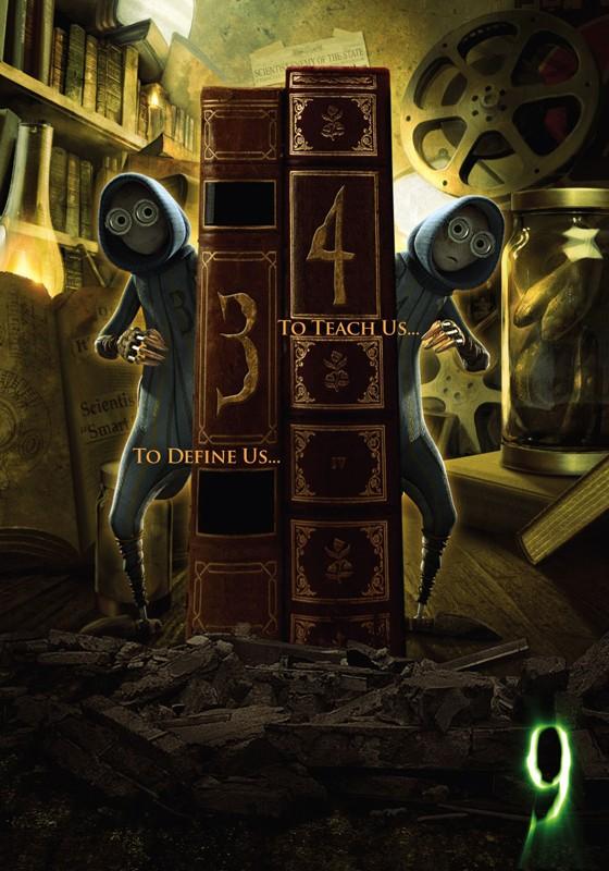 Il poster numero 3 e 4 del film d'animazione 9
