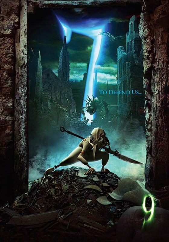 Il poster numero 7 del film d'animazione 9
