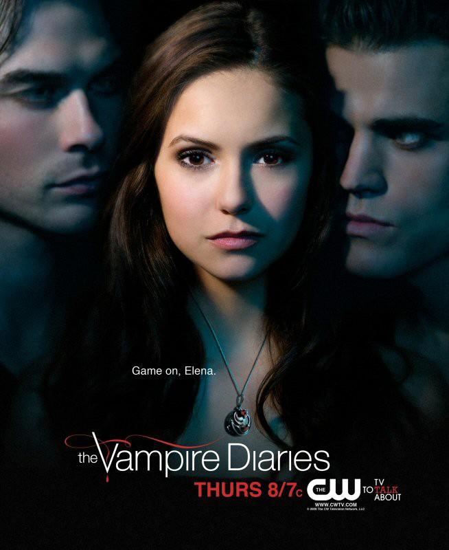 Un nuovo manifesto per The Vampire Diaries con il trio protagonista