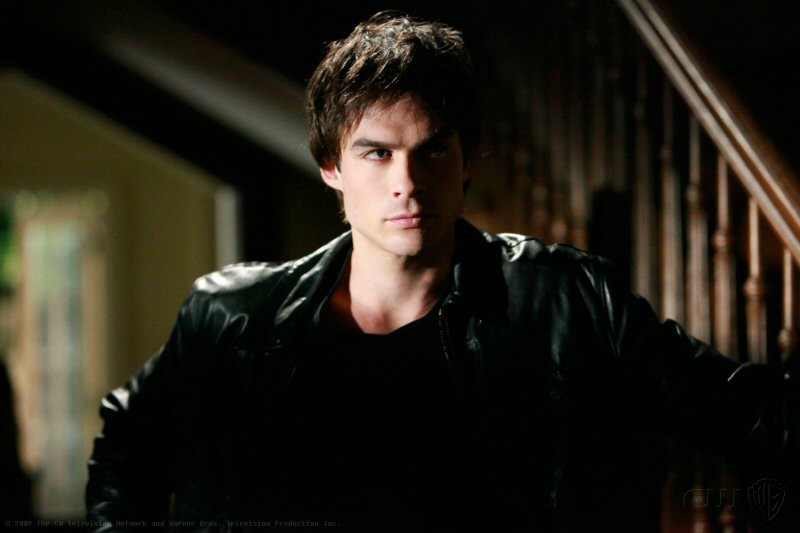 Ian Somerhalder interpreta Damon nell'episodio Family Ties della serie tv americana The Vampire Diaries