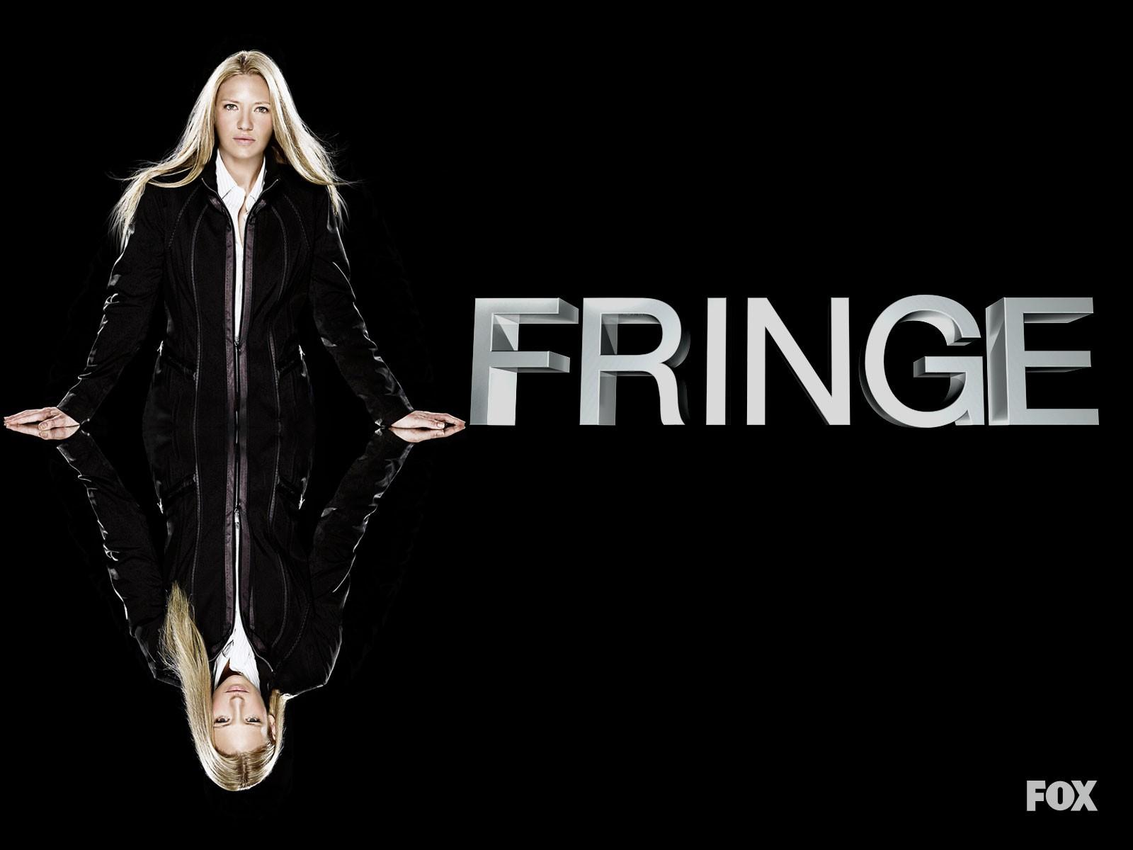 Anna Torv in un wallpaper della stagione 2 di Fringe