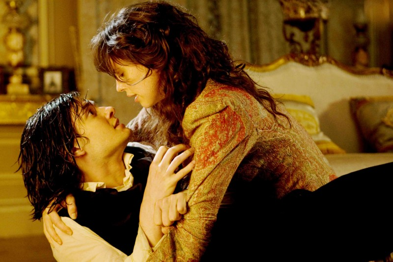 Ben Barnes in una scena del film Dorian Gray