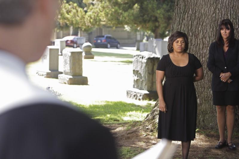 Chandra Wilson in un momento della premiere della sesta stagione della serie tv  Grey's Anatomy