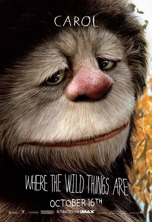 Character Poster 2  (Carol) per Where the Wild Things Are