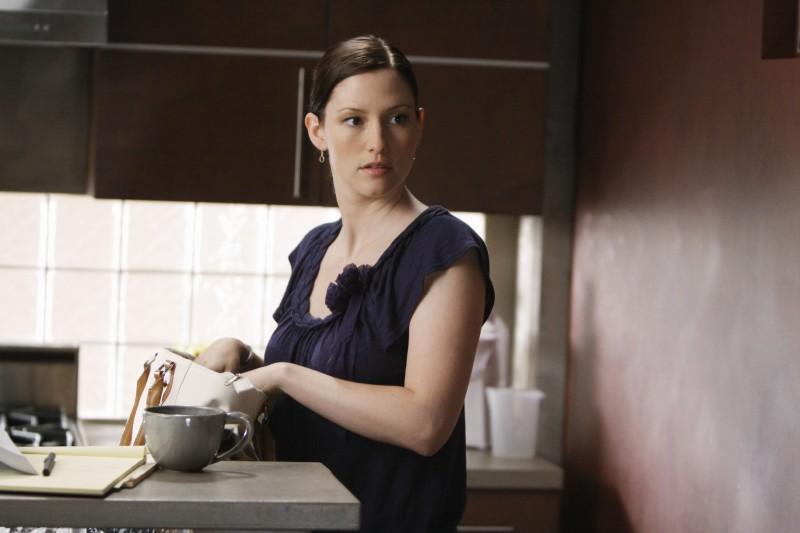 Chyler Leigh in un momento della premiere della sesta stagione della serie tv  Grey's Anatomy