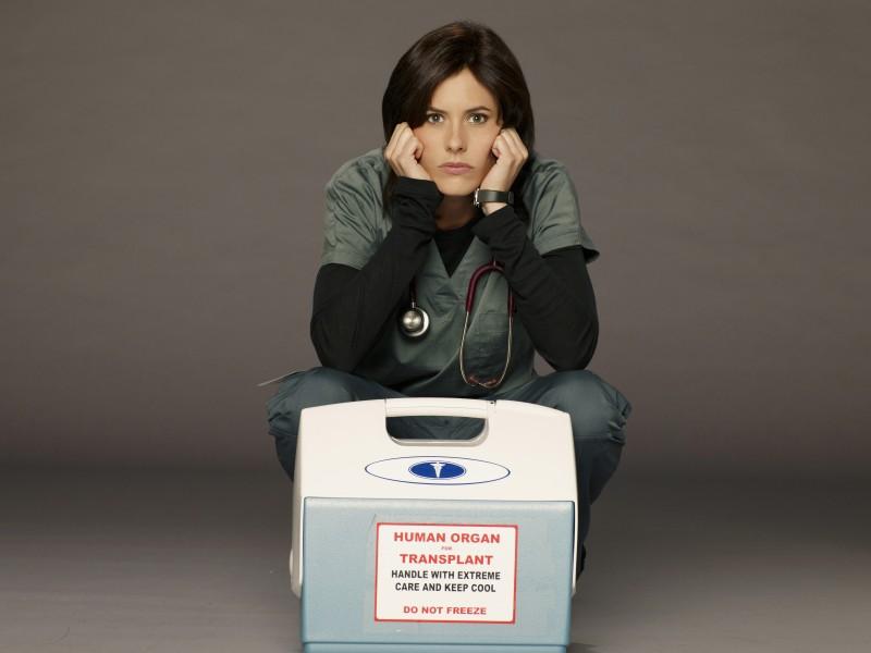 Katherine Moennig nella serie Three Rivers