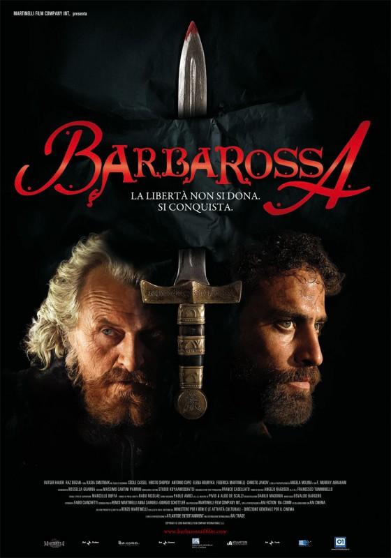 La locandina di Barbarossa