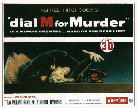 Lobby card promozionale del film Il delitto perfetto (1954)