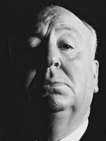 Una foto di Alfred Hitchcock