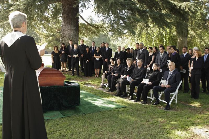 Una scena drammatica della premiere della sesta stagione della serie tv  Grey's Anatomy