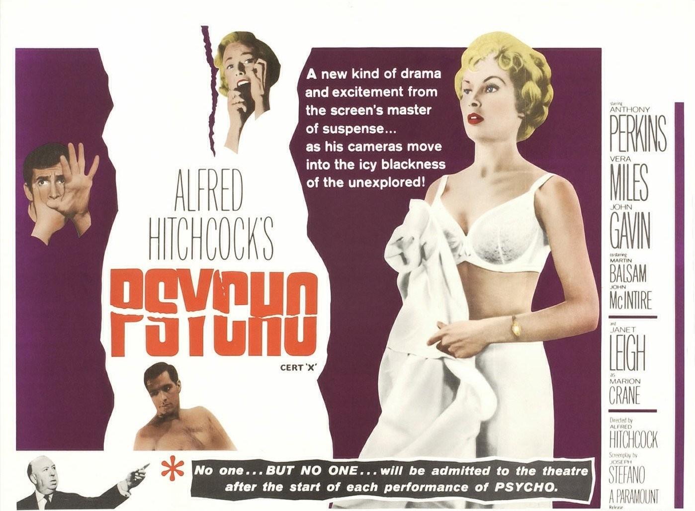 Wallpaper del film Psycho (1960)
