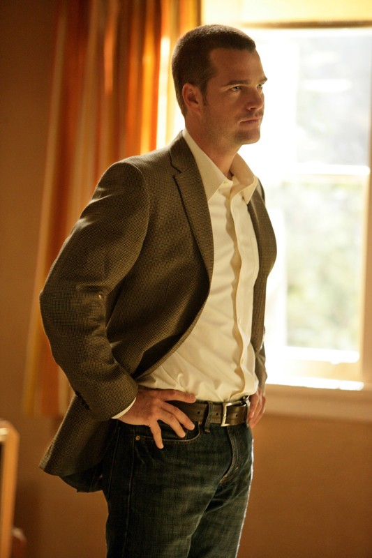 Chris O'Donnell in una scena della serie NCIS: Los Angeles