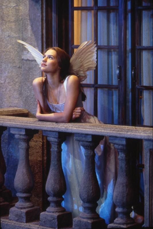 Claire Danes nel film Romeo + Giulietta