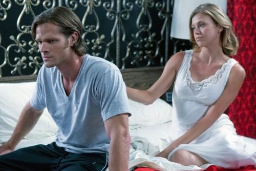 Jared Padalecki ed Adrianne Palicki in una scena dell'episodio Free to Be You and Me di Supernatural