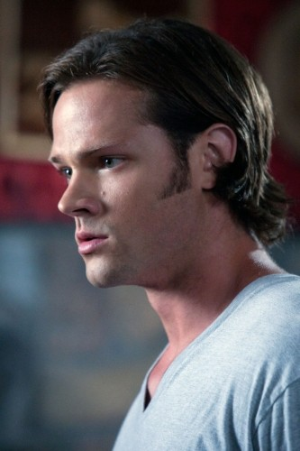 Jared Padalecki in una scena dell'episodio Free to Be You and Me di Supernatural