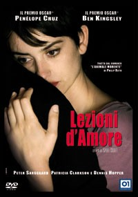 La copertina di Lezioni d'amore (dvd)