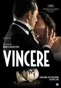 La copertina di Vincere (dvd)