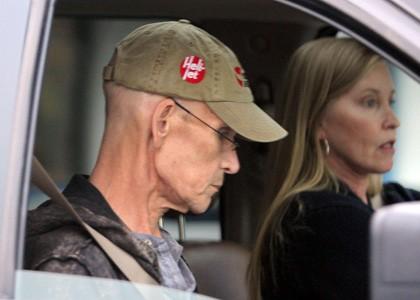 Patrick Swayze accanto a sua moglie Lisa Niemi, in una delle ultime immagini scattate prima della fine