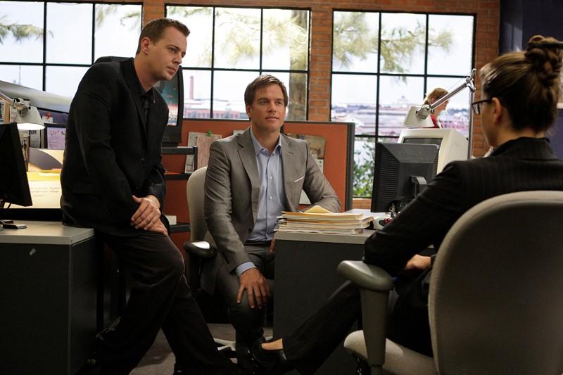 Sean Murray e Michael Weatherly nell'episodio Truth Or Consequences di NCIS