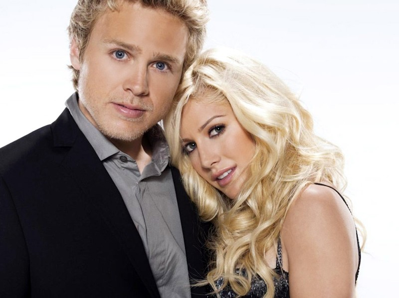 Spencer Pratt e Heidi Montag in un'immagine promo per la stagione 5 di The Hills