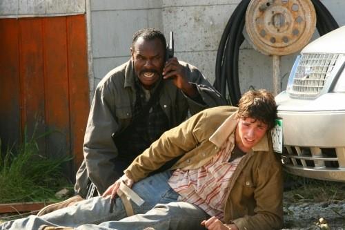 Steven Williams in una scena dell'episodio Good God, Y'All di Supernatural