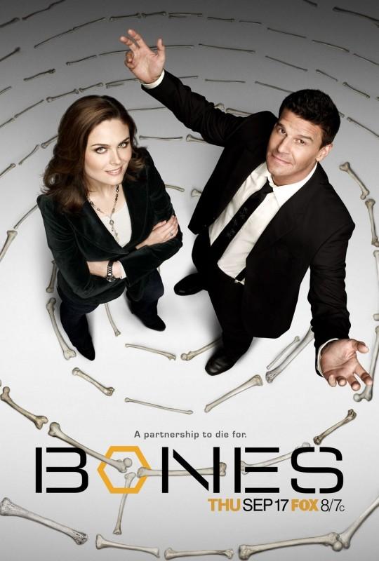 Un poster della stagione 5 di Bones