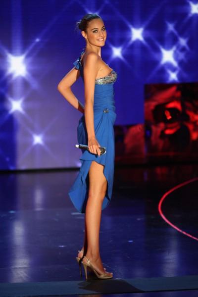 Una foto di Maria Perrusi, vincitrice di Miss Italia 2009