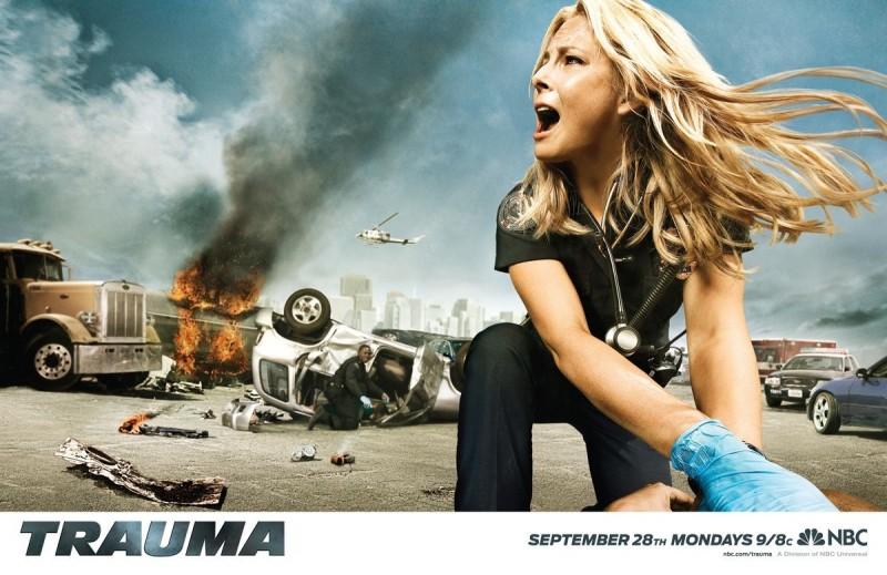Uno dei poster promozionali della serie Trauma