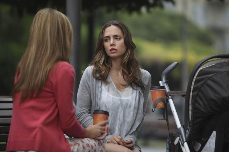 Eliza Dushku in una scena dell'episodio Instinct di Dollhouse