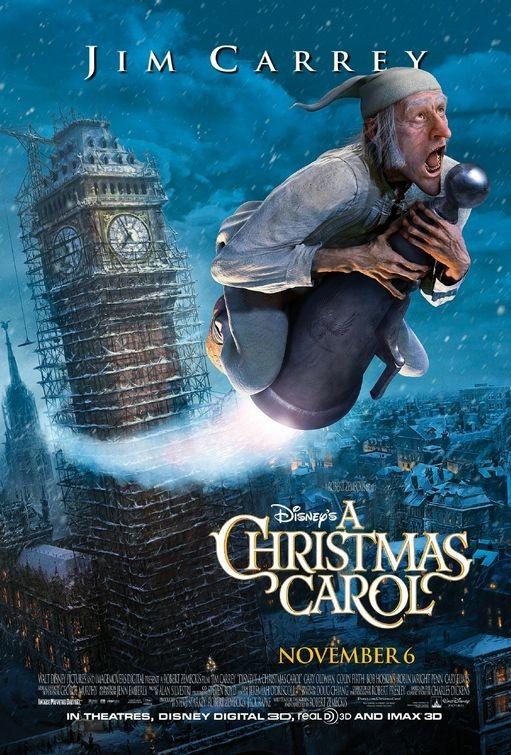Final Poster USA per A Christmas Carol