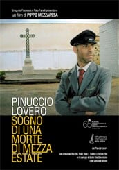 La locandina di Pinuccio Lovero - Sogno di una morte di mezza estate